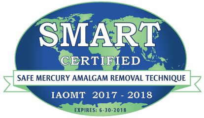 SMART certified mercury dental filling removal